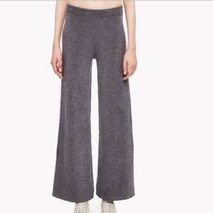 NWT Theory Wide Leg Knit Pants Marled P